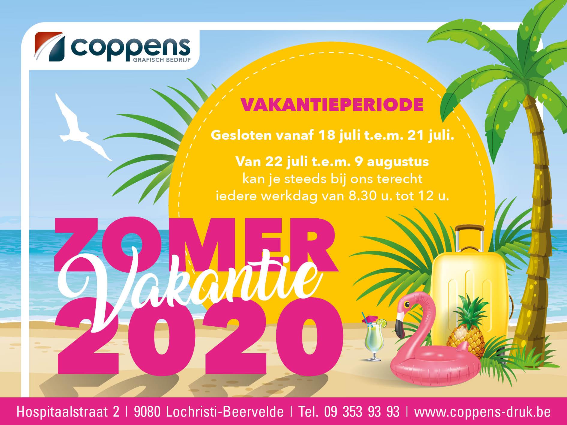 Vakantieperiode 2020