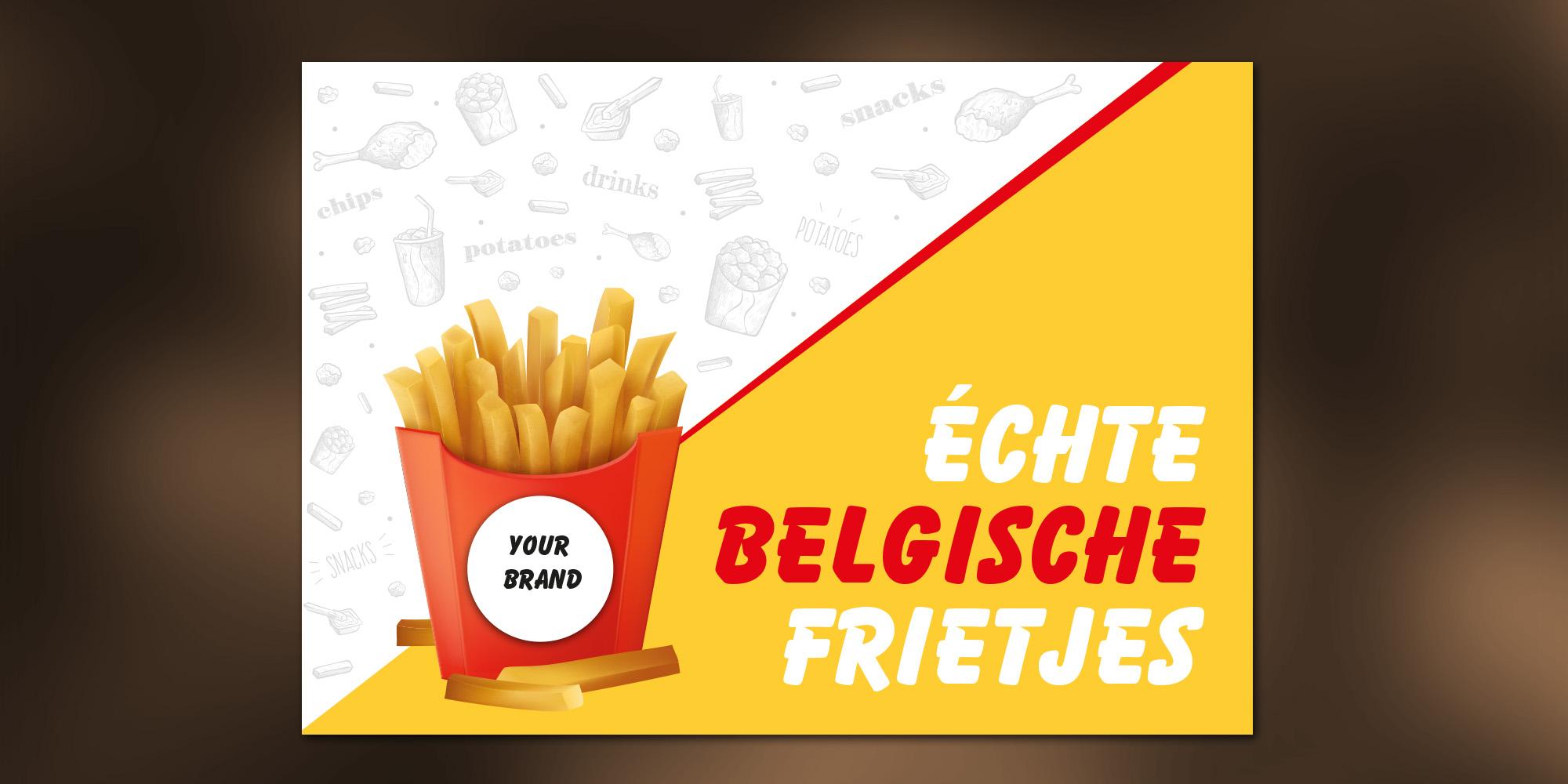 Placemats - Belgische frietjes