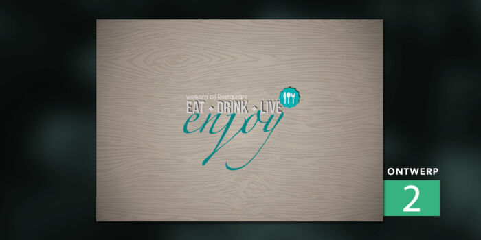Placemats - Enjoy