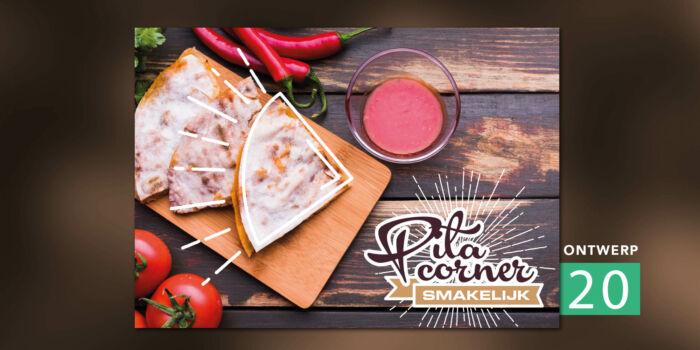 Placemats - Pita corner