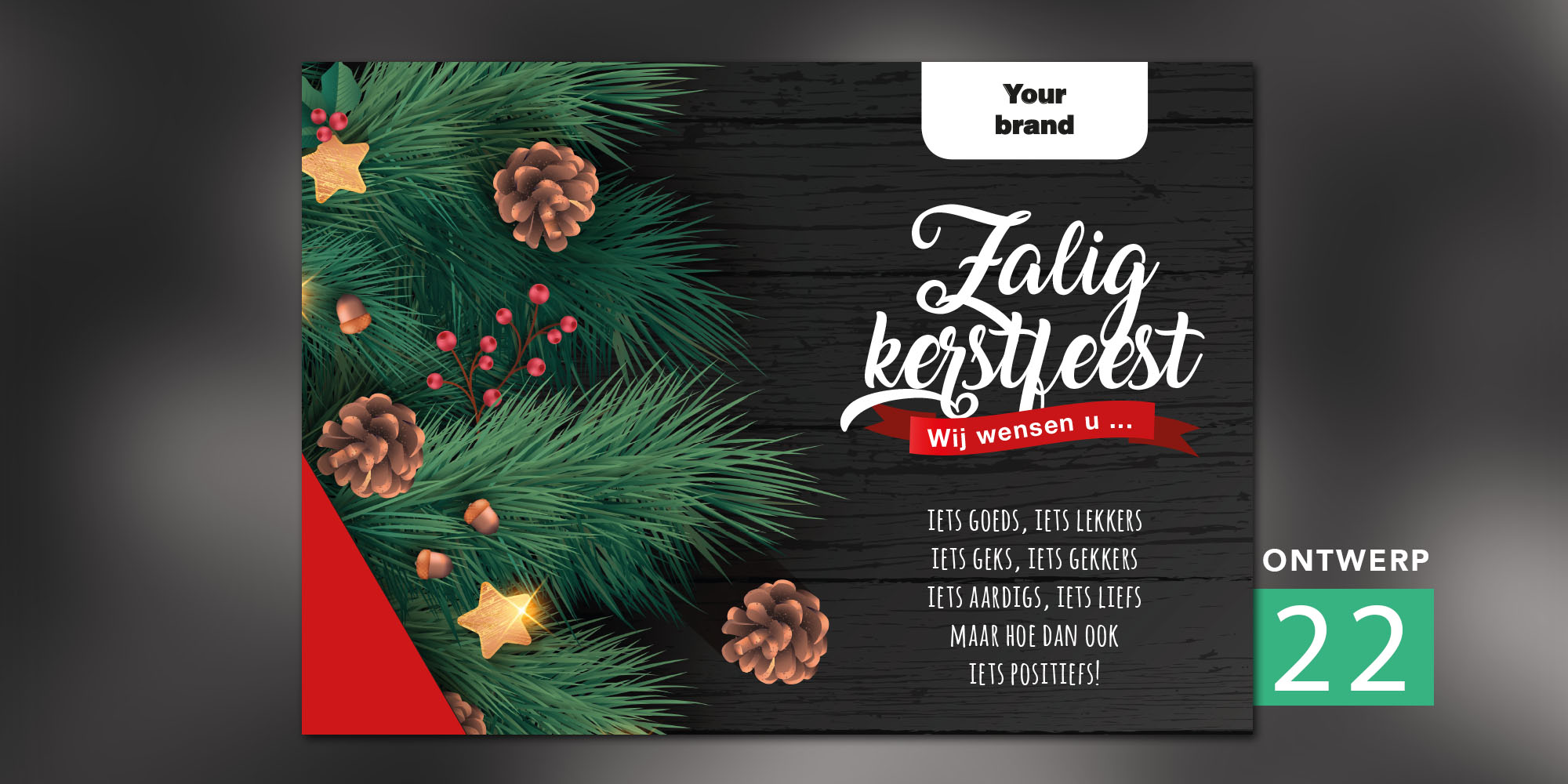 Placemats - Zalig kerstfeest