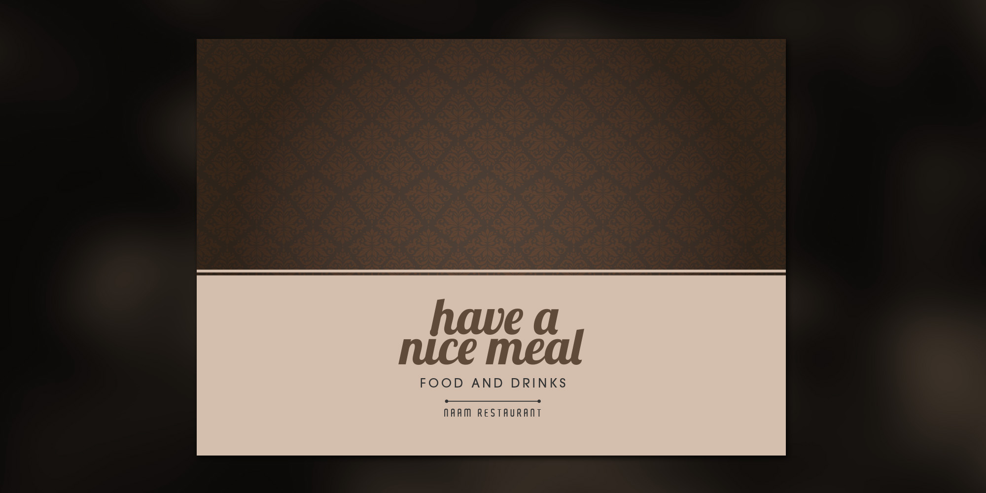 Placemats - Have a nice meal